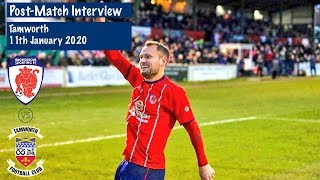 POST MATCH Bren Kelly Reflects On Our Tamworth Win