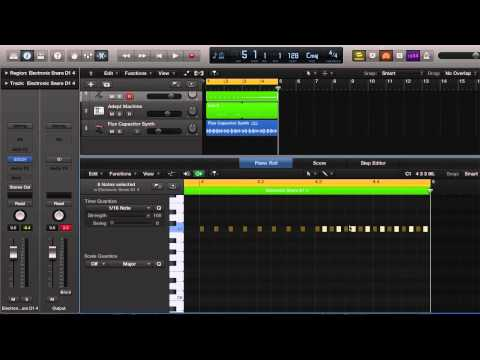 Logic Pro X Tutorial: PITCH SHIFT DRUM ROLL