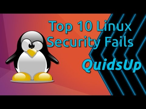 Top 10 Linux Security Fails of 2016
