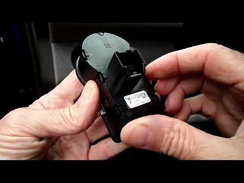 Chevrolet Sonic,Cruze Headlight Switch Removal