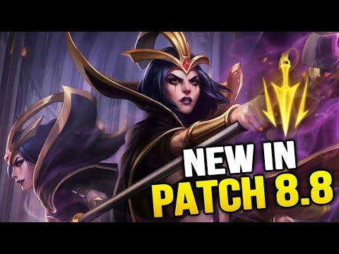 New in Patch 8.8 - Leblanc+Ahri reworks and more big changes! (League of Legends)