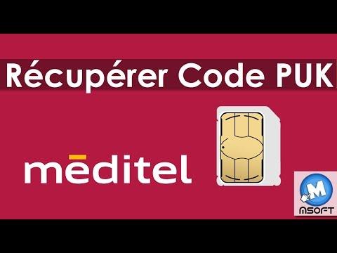 Récupérez votre code PUK Méditel | Msoft | (Darija)