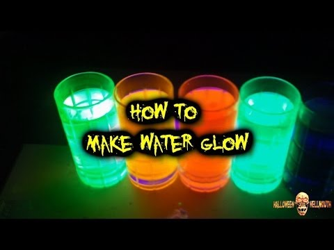 Tutorial:  Making Water Glow