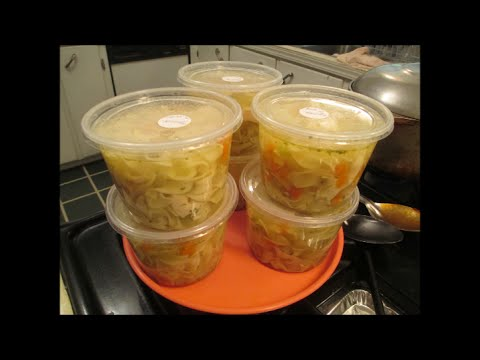 Homemade Chicken Noodle Soup For Two Plus! .