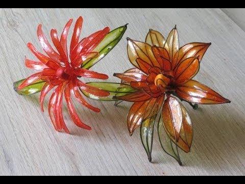 How to Make Gelatin Flowers : Chrysanthemum   (English)