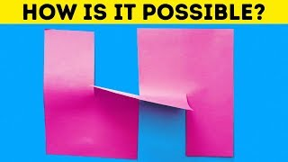 20 MAGICAL DIY ILLUSIONS FOR KIDS AND ADULTS
