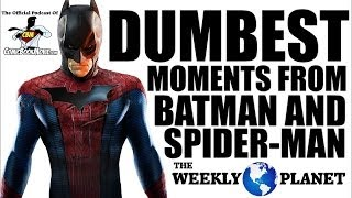 Download Dumbest Moments From BATMAN & SPIDER-MAN Video