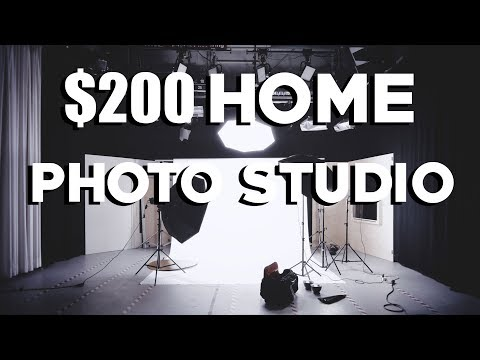 Portrait Studio - How to Set Up a Home Photography Studio for Under $200