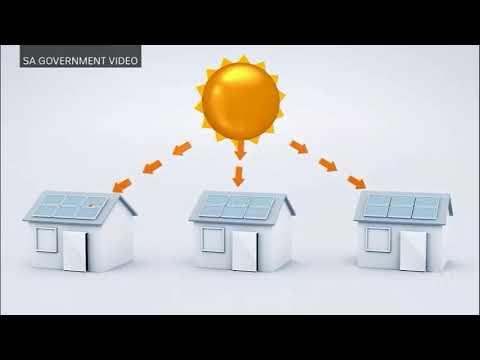 Virtual power plant: 50,000 South Australian homes to get solar panels & Tesla batteries
