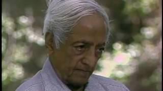 On fears and escapes | J. Krishnamurti