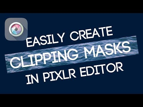 Create a Clipping Mask // Pixlr Editor