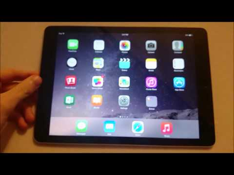 iPad Air 2 Rotate Screen and Lock Screen Orientation (How to on all iPad Air, Mini, Pro models)