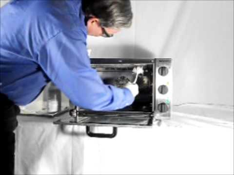 Equipex - Compact convection oven cleaning
