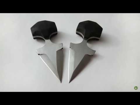 Knife Making | TWIN PUSH DAGGERS