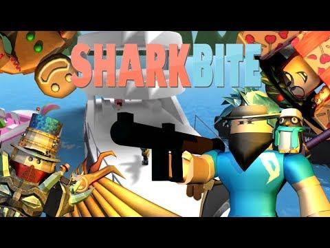 Shark Hunters! | Roblox Sharkbite (FT DanielTheOne, Leo, and Pinkie)