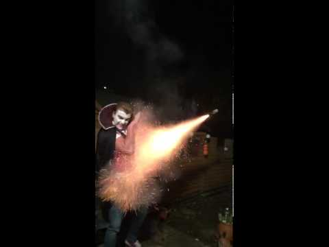 Don't play with fireworks if your Irish lol
