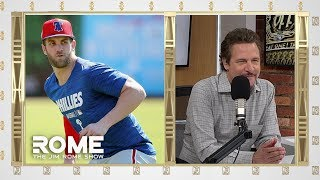 Dave Roberts talks Meeting With Bryce Harper   The Jim Rome Show
