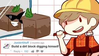 BUILDING YOUR COMMENTS IN MINECRAFT! #10