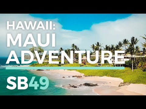 HAWAII TRAVEL VLOG: MAUI WEDDING ADVENTURE | SB49