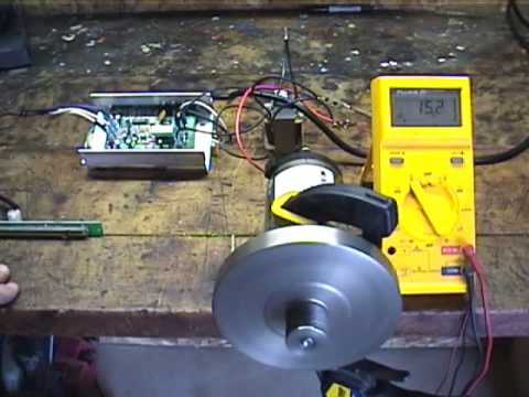 Permanent magnet DC motor stock # MHS-0023