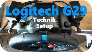 Logitech g29 für Euro Truck Simulator 2 Zentrierfeder