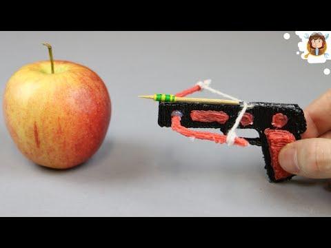 3D Pen - Mini Crossbow - Mini Bow and Arrow - Rubber Band Gun