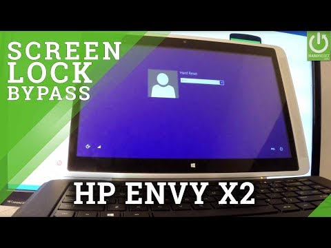 How to Hard Reset HP Envy x2 - Bypass Password / Format Windows