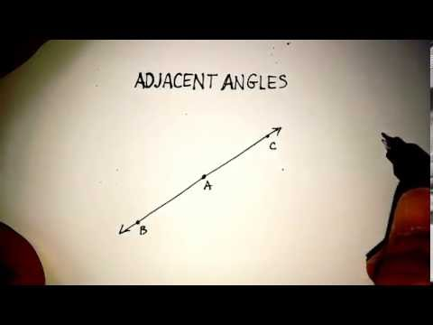 Angles: Adjacent Angles, Complementary Angles, Supplementary Angles