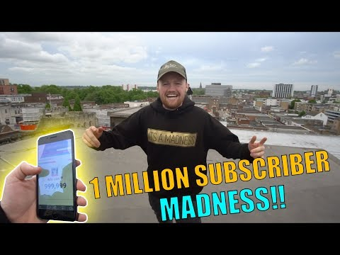 1 MILLION SUBSCRIBERS MADNESS!!