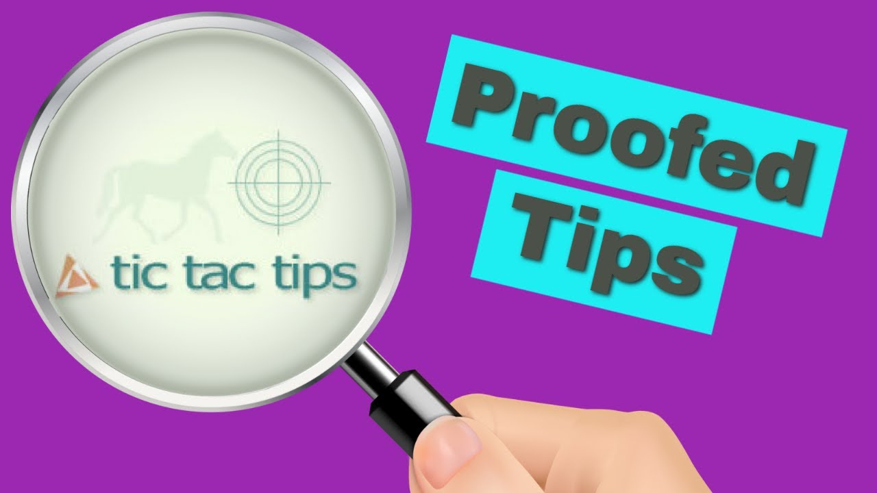 Tic Tac Tips Horse Racing Tipster Review - Proofed Tips