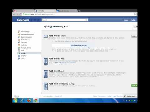 How To Do Mobile Upload To Facebook Fan Page