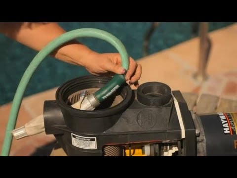 How to Clear Blockages in the Circulation Lines of a Pool : Pool Care