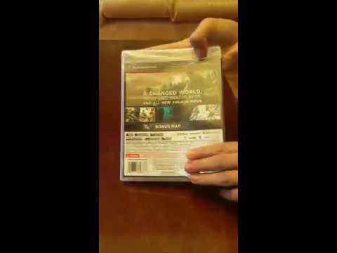 Unboxing Call of Duty Ghosts PS3