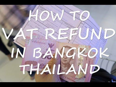 How to VAT Refund in Bangkok, Thailand