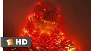 Godzilla: King of the Monsters (2019) - Burning Godzilla Scene (10/10) | Movieclips
