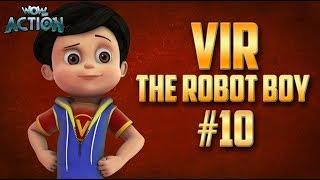 Vir: The Robot Boy | Hindi Cartoon Compilation For Kids | Compilation 10 | WowKidz Action