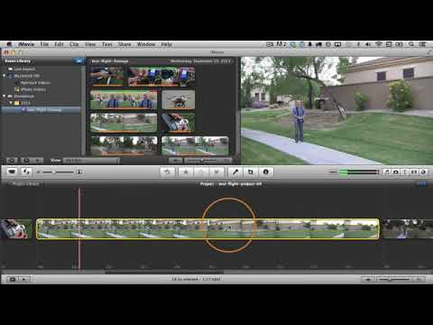 Slow Motion and Fast Motion in iMovie tutorial