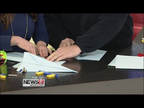 Extreme Paper Airplanes with the New England Air Museum