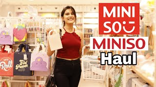 Miniso Vlog Jaipur   Miniso Haul Under 500 Rs.    Extra Cute Stuff   Super Style Tips