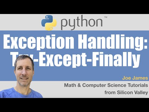 Python: Exception Handling with Try Except Finally
