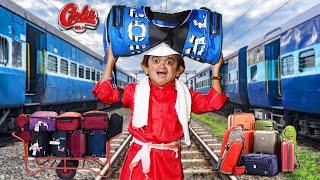 CHOTU DADA COOLIE NO.1 | छोटू दादा कुली नंबर 1 | Khandesh Hindi Comedy | Chotu Comedy Video