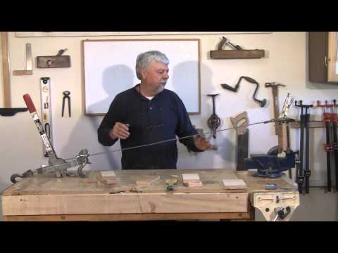 Testing Joint Strength With and Without Biscuits - A woodworkweb.com woodworking video