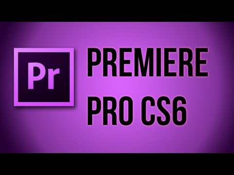 Premiere Pro CS6 - How to Cut Video and Sound (Razor Tool and Unlinking Audio)
