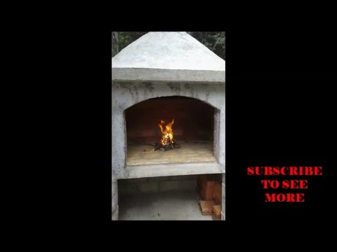 DIY - How to build an outdoor fireplace