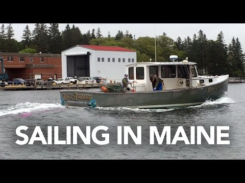Day 14: Sailing in Bar Harbor Maine + Driving to Boston