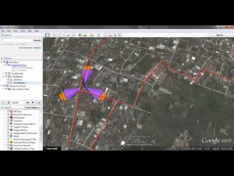 Make Route By Google Earth