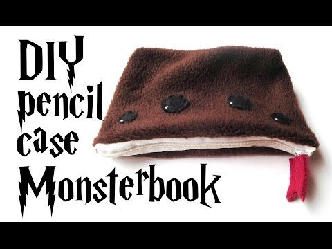 monsterbook pencil case - Harry Potter