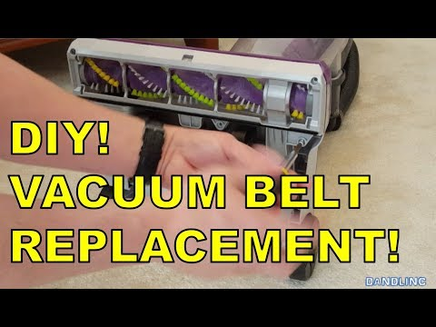 DIY!  How To Change A Vacuum Cleaner Belt