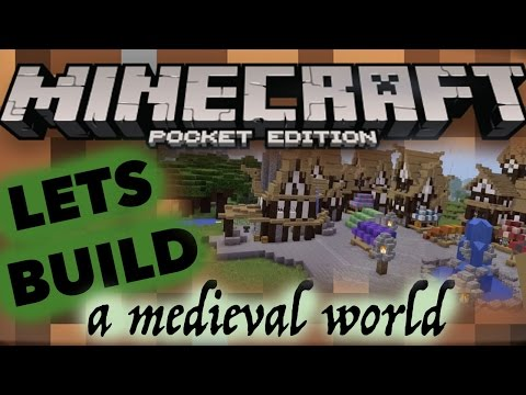 4 Blacksmith | MINECRAFT PE | Let's Build A Medieval Town