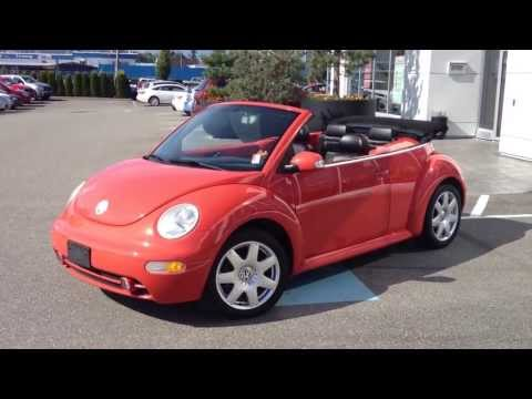 (SOLD) 2003 Volkswagen Beetle GLX Preview, At Valley Toyota Scion In Chilliwack B.C. (#13840B)